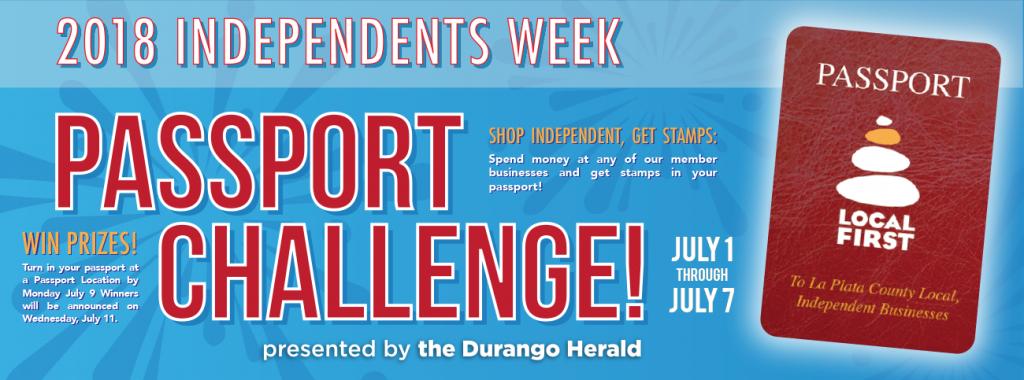 passport challenge Durango